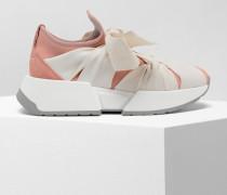 Sneakers Rosa Polyamid, Elastan