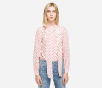 K/Dots Bluse mit Biesen-Details