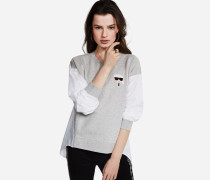 K/Ikonik Sweatshirt im 2-in-1-Look
