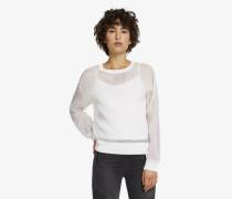 Sweatshirt aus Seidenorganza