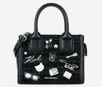 K/Klassik  Mini Tote Bag mit Ansteckern