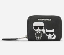 K/Ikonik Kleine Geldbörse mit Rundum-Zipper