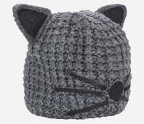 Luxuriöse Mütze im Choupette-Design