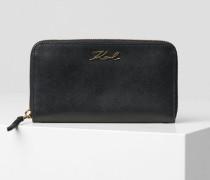 K/Signature Brieftasche mit Reißverschluss