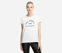 T-Shirt mit Rue St. Guillaume Logo-Print