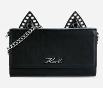 K/Rocky Geldbörse aus Leder im Choupette-Design