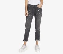 Choupette Jeans mit Perlen