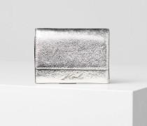 K/Signature Metallic-Brieftasche