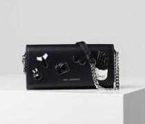 K/Studio Geldbörse aus Tweed mit Kette