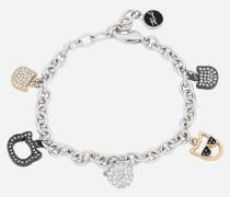 Armband mit mehreren Choupette-Anhängern