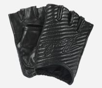 K/Quilted Fingerlose Handschuhe