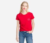 """T-Shirt mit """"RueLagerfeld""""-Logo"""