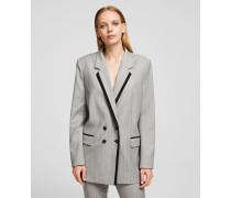 Elegante Jacke aus einem Wolle-Mix