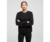 Sweatshirt mit Silhouette Karl x Olivia