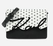 K/Signature Special Schultertasche mit Nieten-Details