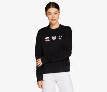 Karl & Choupette Emoji-Sweatshirt