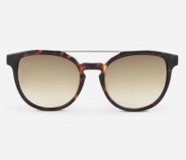 Karl Sonnenbrille mit ovalen Gläsern