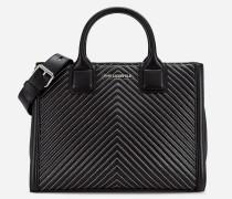 K/Klassik Tote Bag aus Leder mit gesteppten Details