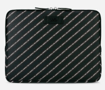 K/Stripe Laptop-Hülle mit Logo