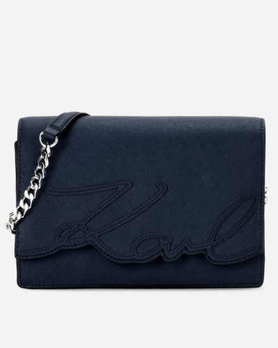 Rabatt-Codes Online-Shopping Karl Lagerfeld Damen K/Signature Essential Schultertasche Spielraum Mode-Stil Die Günstigste Zum Verkauf 0GPJpJJ4NR
