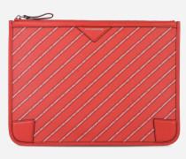K/Stripe Pochette mit Logo