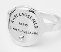 RUE ST. GUILLAUME MEDAILLON-RING