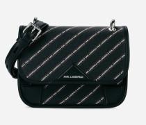 K/Stripe Handtasche mit Logo