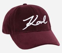 K/Signature Cap aus Samt
