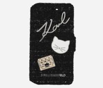 TWEED FOLIO iPHONE 7/8 CASE