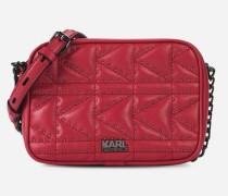 K/Kuilted Camera Bag aus Leder mit Nietendetails