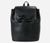 K/Signature Rucksack aus Leder