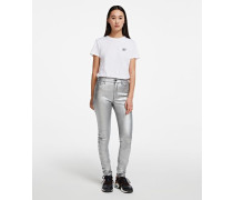 Jeans In Silber