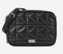K/Kuilted Kameratasche mit Nietendetails