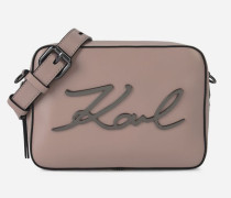K/Signature Camera Bag aus Leder