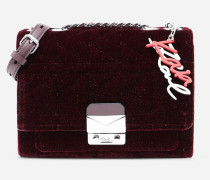 Karl x Kaia Handtasche aus glitzerndem Samt