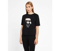K/Ikonik Sweatshirt mit kurzen Ärmeln