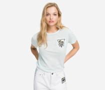 K/Karlifornia T-Shirt mit Brusttasche
