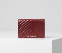K/Klassik Geldbörse im Stepp-Design