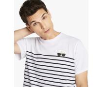 T-Shirt mit Matrosen-Streifen