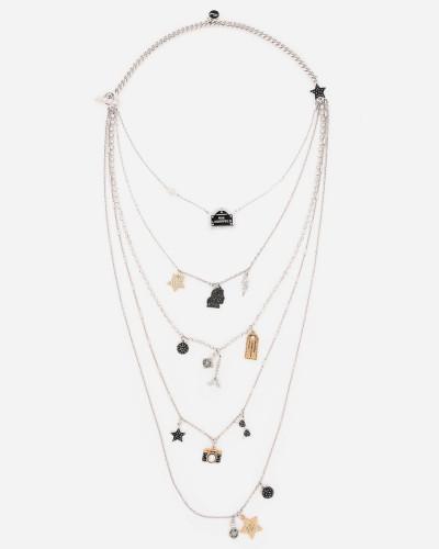 Love From Paris mehrreihige Halskette