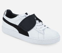 PUMA x KARL klassische Sneakers aus Wildleder