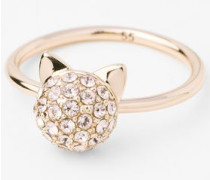 K/CRYSTAL MINI CHOUPETTE RING