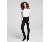 Skinny Jeans mit Zipper am Knöchel