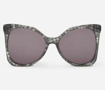Karl Signature lunettes de soleil papillon