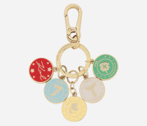 Schlüsselanhänger mit Metallmünzen