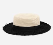 Hut mit Tweed-Verzierung