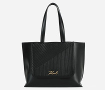 K/Signature Quilted Shopper