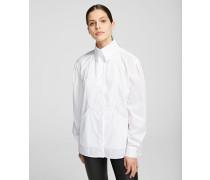 K/Styles Plastron-Bluse