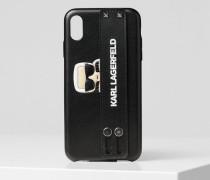 Handyhülle mit KARL-Schlaufe für iPhone XS MAX