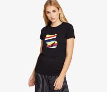 T-Shirt Choupette Multicolor-Optik